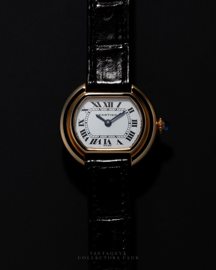 CARTIER@1980s Ellipse Small 061